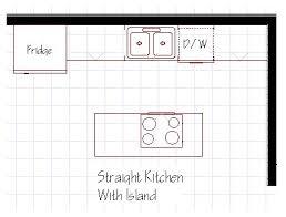 kitchen island width best choice of 25 galley kitchen island ideas on width
