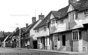 Baldock Blinds Baldock Hitchin Street C 1955 Francis Frith