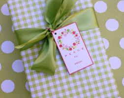 gingham wrapping paper gingham gift wrap etsy