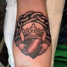 Simple Tattoo Ideas For Guys 50 Claddagh Tattoo Designs For Men Irish Icon Ink Ideas