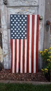 Hanging American Flag Vertically Rustic Wood American Flag Wood Flag Vertical Flag Rustic Flag