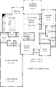 traditional floor plan house plan 58277 at familyhomeplans com