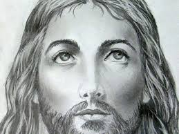 dark shading is used to put the features of jesus into relief in