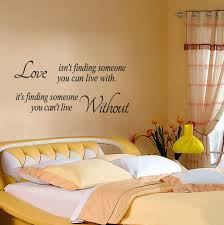 love isn u0027t finding wall stickers quote letters words removable