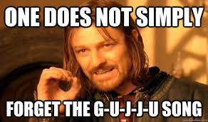 Indian Song Meme - one does not simply forget the g u j j u song indian meme