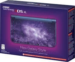 nintendo new galaxy style new nintendo 3ds xl blue redsubaa best buy