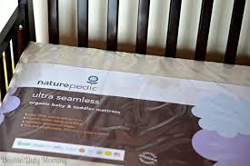 Naturepedic Crib Mattress Naturepedic Organic Ultra Seamless Crib Mattress Giveaway