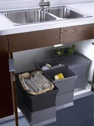 Kitchen Trash Cabinet Pull Out Ikea Trash Pullout Houzz