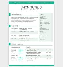Unique Resume Examples by Unique Resume Templates Free Resume Cv Cover Letter