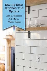 how to cut ceramic tile around kitchen cabinets saving etta installing the tile backsplash a mistake i ll