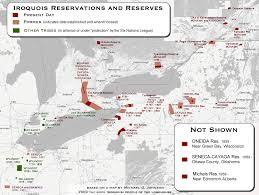 Standing Rock Reservation Map Local Native American History