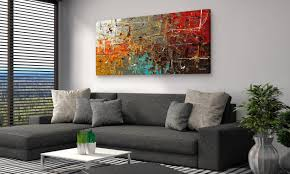 living room wall how to choose the best wall art for your home overstock com