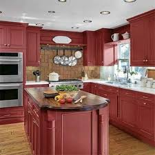 Contemporary Kitchen Cabinets 15 Contemporary Kitchen Designs With Red Cabinets Rilane