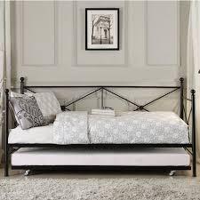 homelegance jones metal daybed with trundle wayside furniture homelegance jones metal daybed item number 4964bk nt