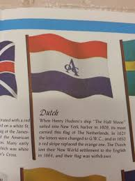 Flying The Flag Upside Down Upside Down Dutch East India Company Insignia On 1963 Flag Chart