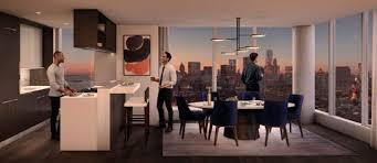 behold the interiors of extell u0027s 80 story lower east side condo