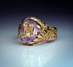 Mens Monogram Rings Custom Designed Signet Rings And Family Crest Rings By Designet