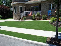 grass installation jarales new mexico landscape rock front yard