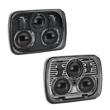 jeep black headlights j w speaker model 8900 evolution