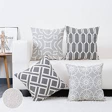 decorative throw pillows for sofa amazon com