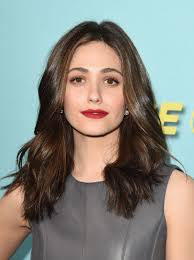 emmy rossum at shameless house of lies and episodes premiere in