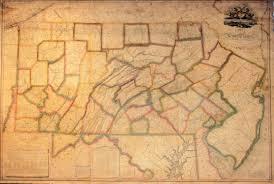 Pennsylvania State Map by 1820 U0027s Pennsylvania Maps