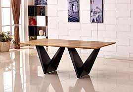 rustic metal and wood dining table large elvira modern chic rustic metal wood dining table 8 10 12
