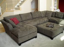 Black Fabric Sectional Sofas Simple Living Room Decorating Ideas With Cheap U Shaped Fabric