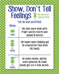 best 25 show dont tell ideas on pinterest writing advice