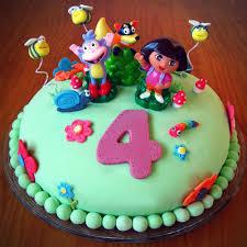linno yum kids u0027 birthday cake dora explorer