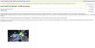 Flag Craigslist Post Guy Will Trade U0027awesome Magnet U0027 Dirt Bike For Samurai Sword