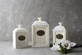 decorative kitchen canisters amazon com