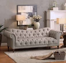 Chesterfield Sofa Cushions Living Room Chesterfield Sofa Style Living Room Sofa Gray Easy To