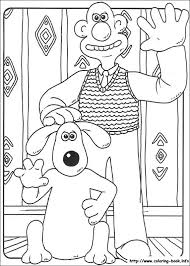 21 wallace gromit images colouring pages