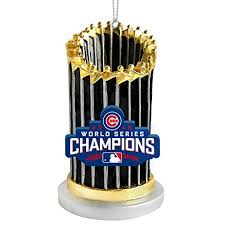chicago cubs 2016 world series chion trophy