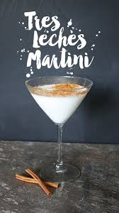 tres leches martini yes please cu rio