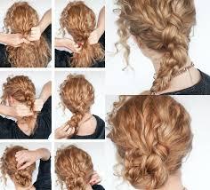 Hochsteckfrisurenen Lockige Haare by 40 Frisuren Für Naturlocken Zum Selbermachen Mit Anleitung Haare