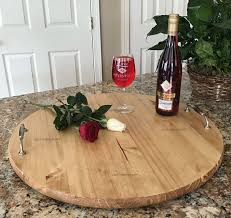 personalized serving trays platters serving trays personalized serving tray wood lazy susan