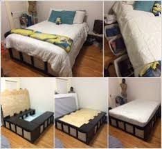 Room Decor Ideas For Small Rooms Genius Diy Under The Bed Storage Solution Bed Storage Upcycle