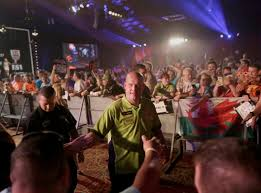 top darts competition throws fans into frenzy at tropicana u2013 las