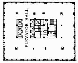 chrysler building floor plans gallery of ad classics chrysler building william van alen 26