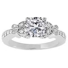 butterfly engagement rings from mdc diamonds nyc - Butterfly Engagement Rings