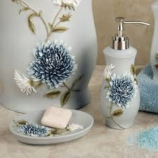 Brown Bathroom Accessories by Bathroom Blue Bathroom Accessories With Elegant Look Cobalt