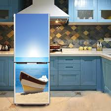 compare prices on plastic window boat online shopping buy low yazi boat pvc self adhesive refrigerator contact paper fridge door cover sticker refurbished wallpaper 60x150cm