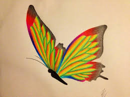 a colourful butterfly by 1997girl on deviantart