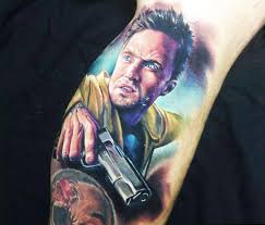 jesse pinkman from breaking bad tattoo by paul acker no 36