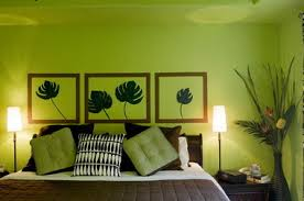 Retro Floral Designs Green Room Decorating Ideas Green Decor - Green color bedroom ideas