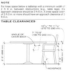 standard dining room table dimensions with concept inspiration