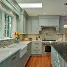 Light Blue Kitchen Backsplash by Blue Traditional Kitchen Photos Hgtv