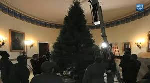 obama s tree takes 4 days to put up at height of